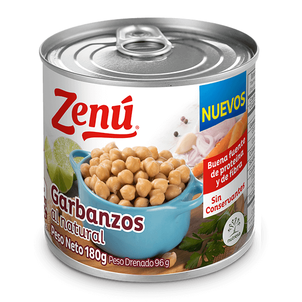 Garbanzos al natural Zenú